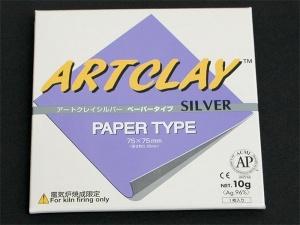 Art Clay Silver Paper Type - Silberpapier nicht nur für Origami-Silberschmuck